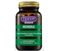 Optim Dose Memoria 60 cápsulas