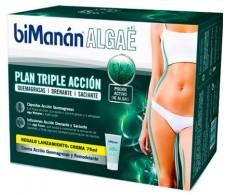 Bimanan Algae Plan triple acción Quemagrasas, drenante y saciante