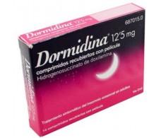 Doxylamine Dormidina 12.5 mg film-coated tablets 14
