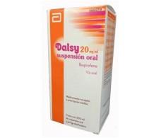 Dalsy 20 mg / ml oral suspension 200ml