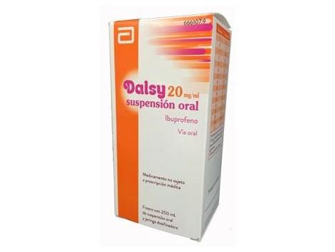 Dalsy 20mg/ml suspensión oral 200ml