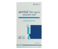 Apiretal 100mg/ml solución oral 90ml.