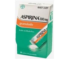 Aspirina 500 mg Granulado 20 sobres
