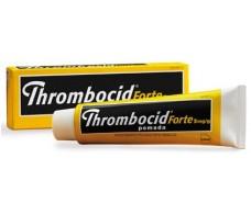 Thrombocid Forte 5mg pomada 60 gramos tubo.