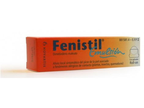 Fenistil emulsion 8ml roll-on.
