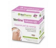 VenPharma Venline Celuven-t especial piel de naranja 20 ampollas