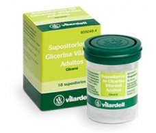 Glycerin Suppositories Adult Vilardell 18 units