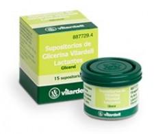Glycerin suppositories for infants Vilardell 15 units