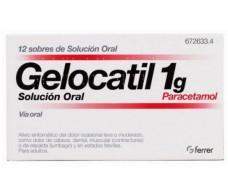 Gelocatil Lösung zum Einnehmen 1 g 12 Beutel