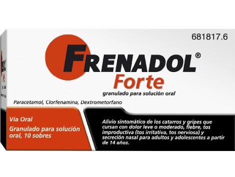 Frenadol Forte 10 sachets of granules for oral solution