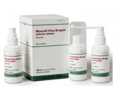 Minoxidil Viñas 50 mg/ml solución cutánea 3X60ml. 180ml