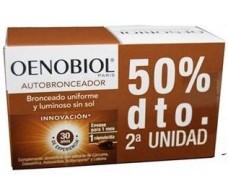 Oenobiol Autobronceador Pack 2 x 30 cápsulas