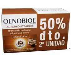 Oenobiol Self-Tanning Pack 2 x 30 capsules