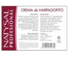 Natysal Crema Harpagofito Profesional 1kg