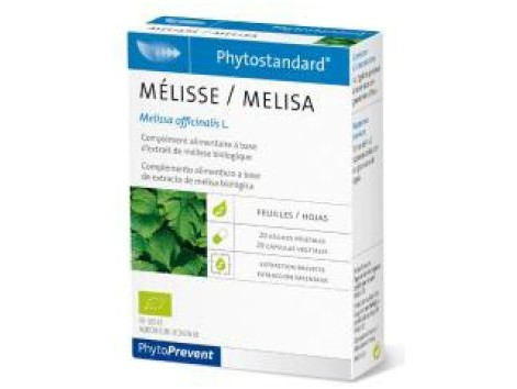 Melisa 20 capsules Pileje Phytostandard (intestinal spasms)