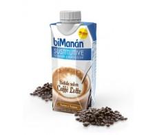 Bimanan Sustitutive Batido sabor cafè con leche 330ml.