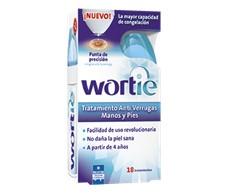 Wortie Tratamiento anti verrugas 18 aplicaciones.