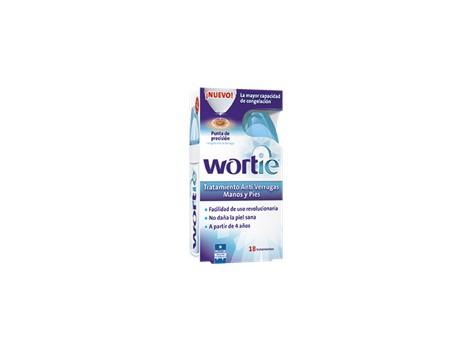 Wortie anti warts treatment. 18 applications.