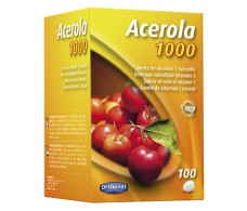 Orthonat Acerola 1000mg Natural (vitamina C )100 comprimidos.