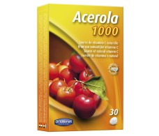 Orthonat Acerola Natural 1000mg (Vitamin C) 30 tablets.