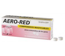 Aero-red 40 mg 30 comprimidos masticables
