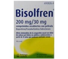 Bisolfren 200 mg / 30 mg 20 coated tablets