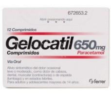 Gelocatil 650 mg 12 Tabletten
