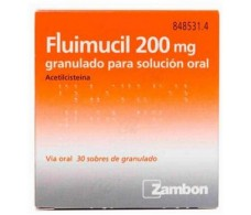 Fluimucil 200 mg granules for oral solution 30 envelopes