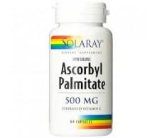 Solaray Ascorbyl Palmitate 500mg 60 cápsulas