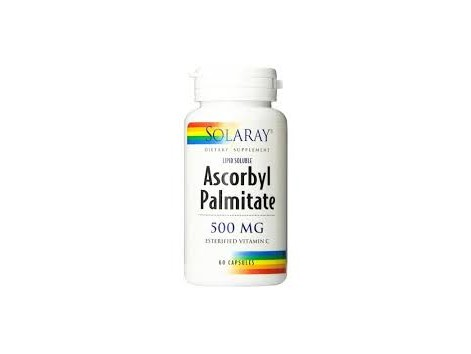 Solaray Ascorbyl Palmitate 500mg  60 C
