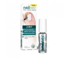 Nailner Pincel 2 en 1  Repair Hongos 4ml.