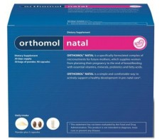 Orthomol Natal 30 servings daily (granulate + capsules)