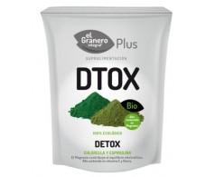 El Granero Detox Bio (Chlorella y Spirulina - DTOX) 200 g