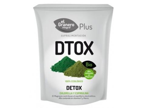 El Granero Bio Detox (Chlorella and Spirulina - DTOX) 200 g