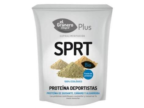 El Granero Bio Protein athletes (pea protein, hemp and carob - SPRT) 200 g