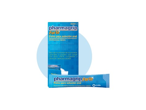 Pharmagrip forte powder for oral solution 10 envelopes