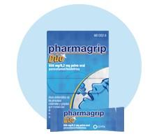 Pharmagrip dúo 650 mg/8,2 mg polvo oral 10 sobres