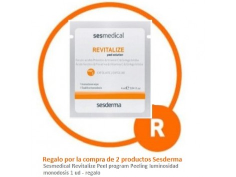 Sesmedical Revitalize Peel program Peeling luminosidad monodosis 1un - regalo