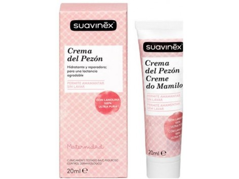Suavinex Nipple care cream 20ml