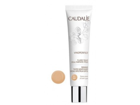 Caudalie Vinoperfect Fluid with Color Perfect Skin FPS20 (01 light) 40 ml