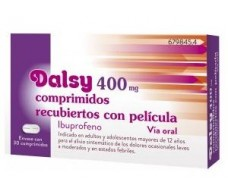 Dalsy 400 mg 30 coated tablets, medicine
