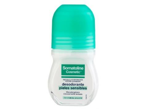 Somatoline woman sensitive skin deodorant roll-on 50ml