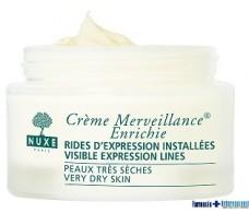 Nuxe Crème 50ml Merveillance Enrichie. Very dry skins.