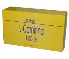 L-Carnitina 1500-Ze 30 ampollas. Zeus