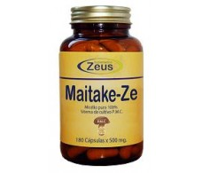 Ze 180 Maitake capsules. Zeus