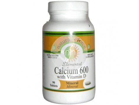 Natural force Calcium + Vitamin D 90 capsules.