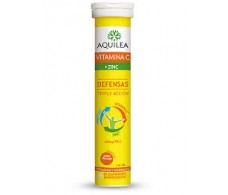 Aquilea with Vitamin C + Zinc 14 effervescent tablets
