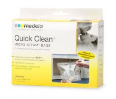Medela Quick Clean Bolsas para estelizar en microondas. 5 un.