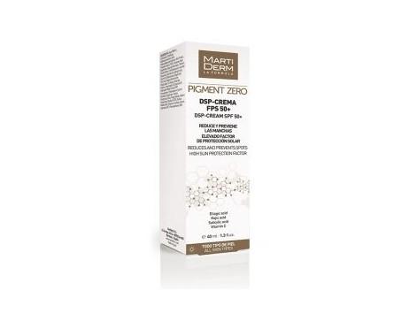 MartiDerm PIGMENT ZERO DSP Depigmenting Cream SPF 50 40
