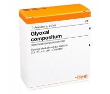 Heel Glyoxal Compositum 5 ampollas 2,2 ml.
